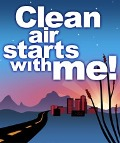 Clean air starts with me!